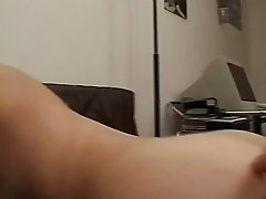 Amateur girlfriend toys and sucks with facial cum