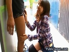 Haruka itoh asian babe has sex in public part6