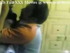 Indian cute maid fucked when wife is out