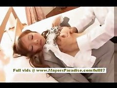 Akiho Yoshizawa Chinese girl gets a real hard fucking
