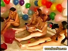 Real amateur lesbian party games