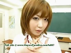 Nao Ayukawa and Rio Hamaski innocent chinese girls enjoy fucking with their students
