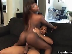 Gabriel Hunter stretching her pink with a toy for big hard black boner