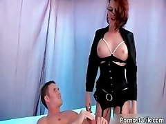Cock loving brunette slut gets fucked part2