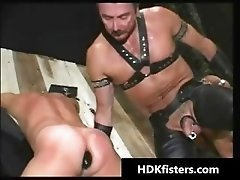 Impossible gay hardcore ass fisting part1
