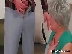 Busty chubby mature slut gets wet meaty part6