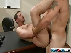 Tight ass fucking at the office part1