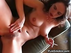Hot sexy great tits brunette babe gets part5