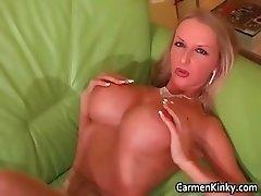 Sexy brunette and blond teacher part6