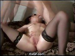 ExGF Masturbate & Fuck