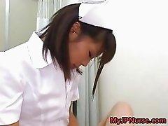 Bunko Kanazawa Sexy Asian nurse teaches part5