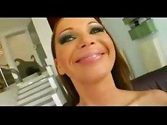 Cristina Bella hot blowjob and Swallow cum