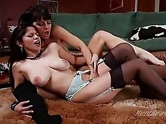 Filthy babe Mia Presley gives the perfect pleasure her girlfriend deserves