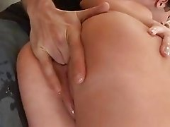 Horny Holly Fox gets an anal screwing before swallowing a creamy cumload