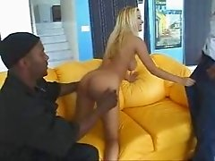 Luvana SUCKS and FUCKS Two Monster Blacks - BBC