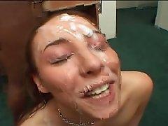 Delilah Strong facials #2