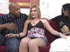 Hayden Night Interracial Threesome