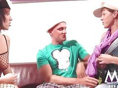 MMV FILMS Gina visits an Amateur Couple