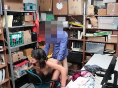 A Big Dick For Sweet Teen Shoplifter