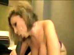 Naughty Blonde Mom Wants Black Cock