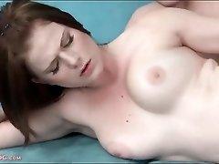 Young curvy beauty in hardcore sex scene
