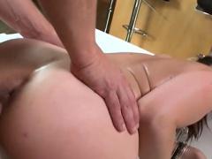 Busty slut Sarah Vandella pussy pounded by hard schlong