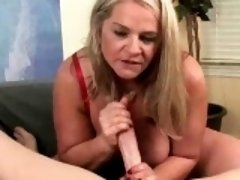 Milf Likes Getting Her Face Blasted With Salty Jizz