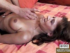 Bruenette Sexy German Milf