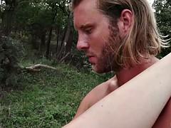 brunette zoe davis pleasuring her dude's wiener in the nature