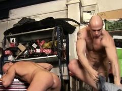 Hunk rides cum cock raw