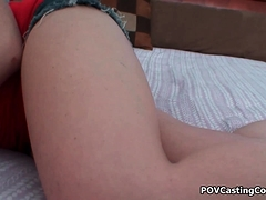 Izzi Ryder Gets on Her Knees POV Cock Sucking