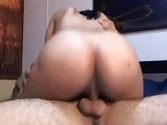 Pretty Colombian Brunette Gets Pussy Driiled Hard