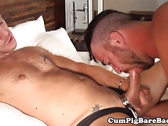 Cub barebacking tight ass in underwear duo