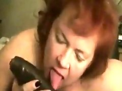 Mature Redhead With A Big Black Cock