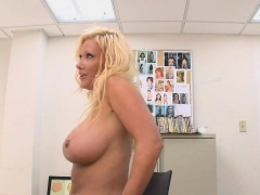Hawt and milf is riding on a thick rod zealously