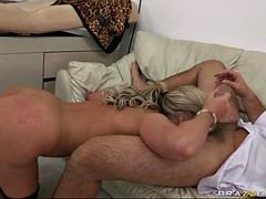 nasty doctor phoenix marie gets her face and throat fucked by a meaty pole