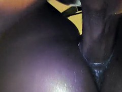 A wild black girl my cum !!