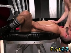 Mexican male fisted and older gay men fucking Aiden Woods is