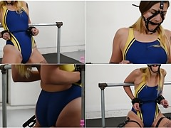 Ayla Aysel swimsuit pole bondage