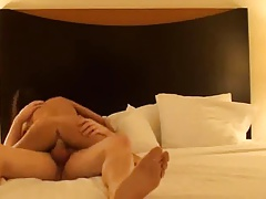 Amateur Threesome with Husband and GF