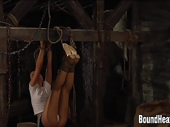 Young Girls Thrown In Bondage