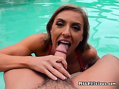 Rich Cougar Kate Linn Gets Freaky With Her Hung Bodyguard