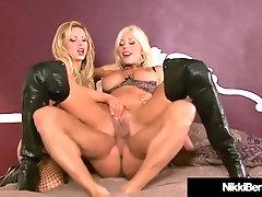 Rod Thirsty Nikki Benz - Puma Swede Do Giant Boner three Way!