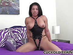 Swallow his cum after he pounds my pussy