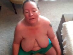 mature bbw devours son's ass cumshot