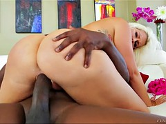 savana styles takes a bronco ride, arching her back