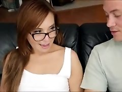Tight Kaylee Haze pussy filled with cum
