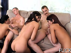 Babes are baring their vaginas for unfathomable poundings