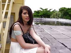 Joseline Kelly fucked outdoors