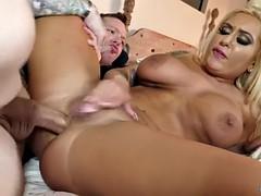 brandi bae buttfucked by her besties bf
